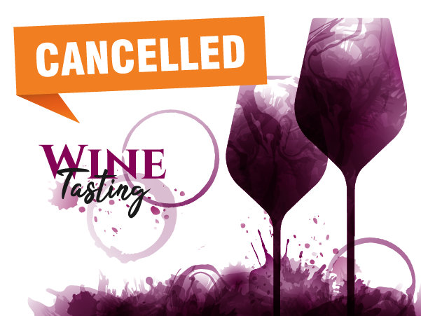 Wine tasting event canceled
